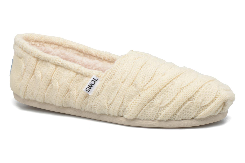 TOMS Seasonal classics knit (Bianco) - Mocassini chez Sarenza (277695) 88b7e06001e