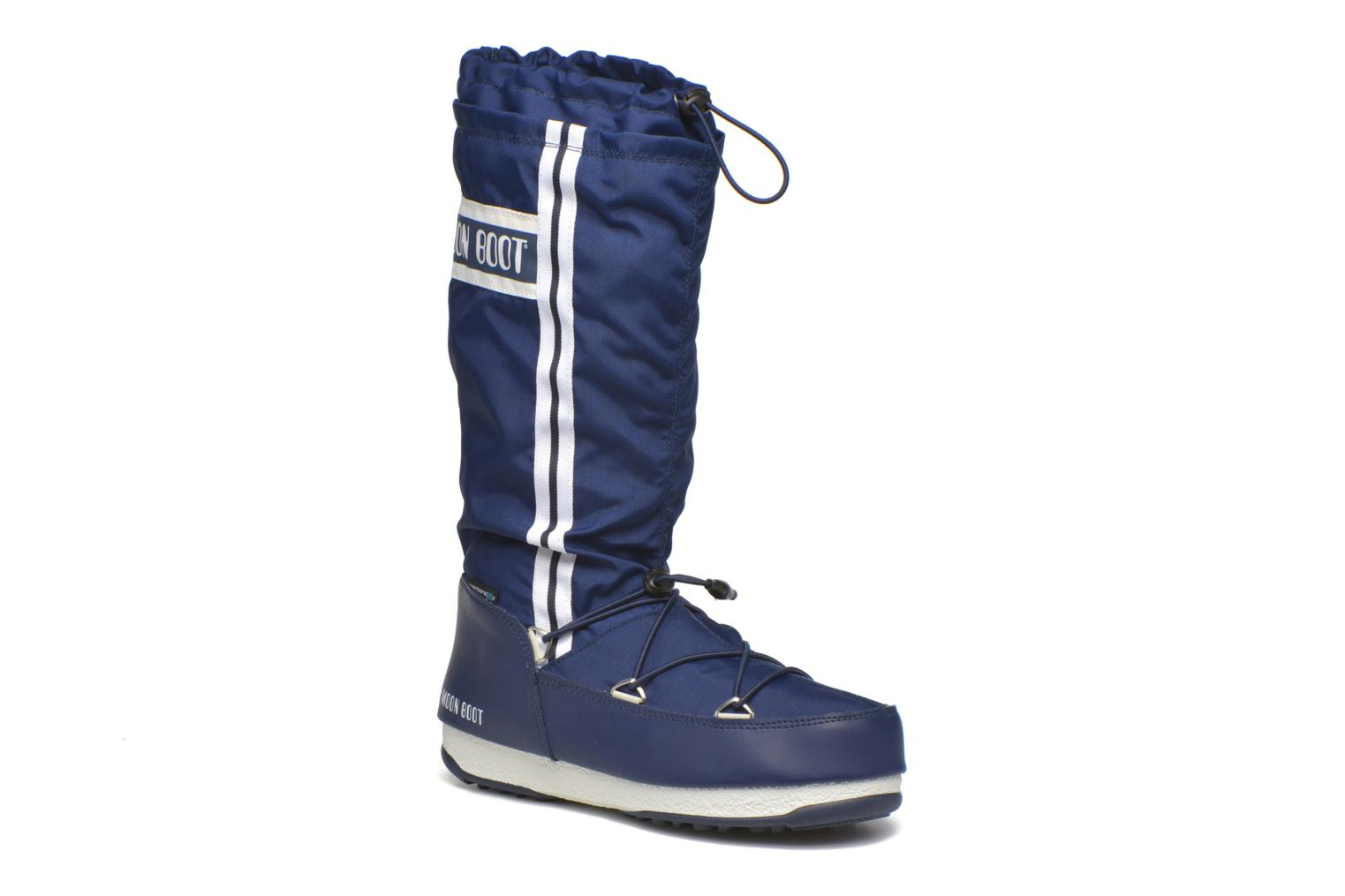 Boots & wellies Moon Boot Waterfall Blue detailed view/ Pair view