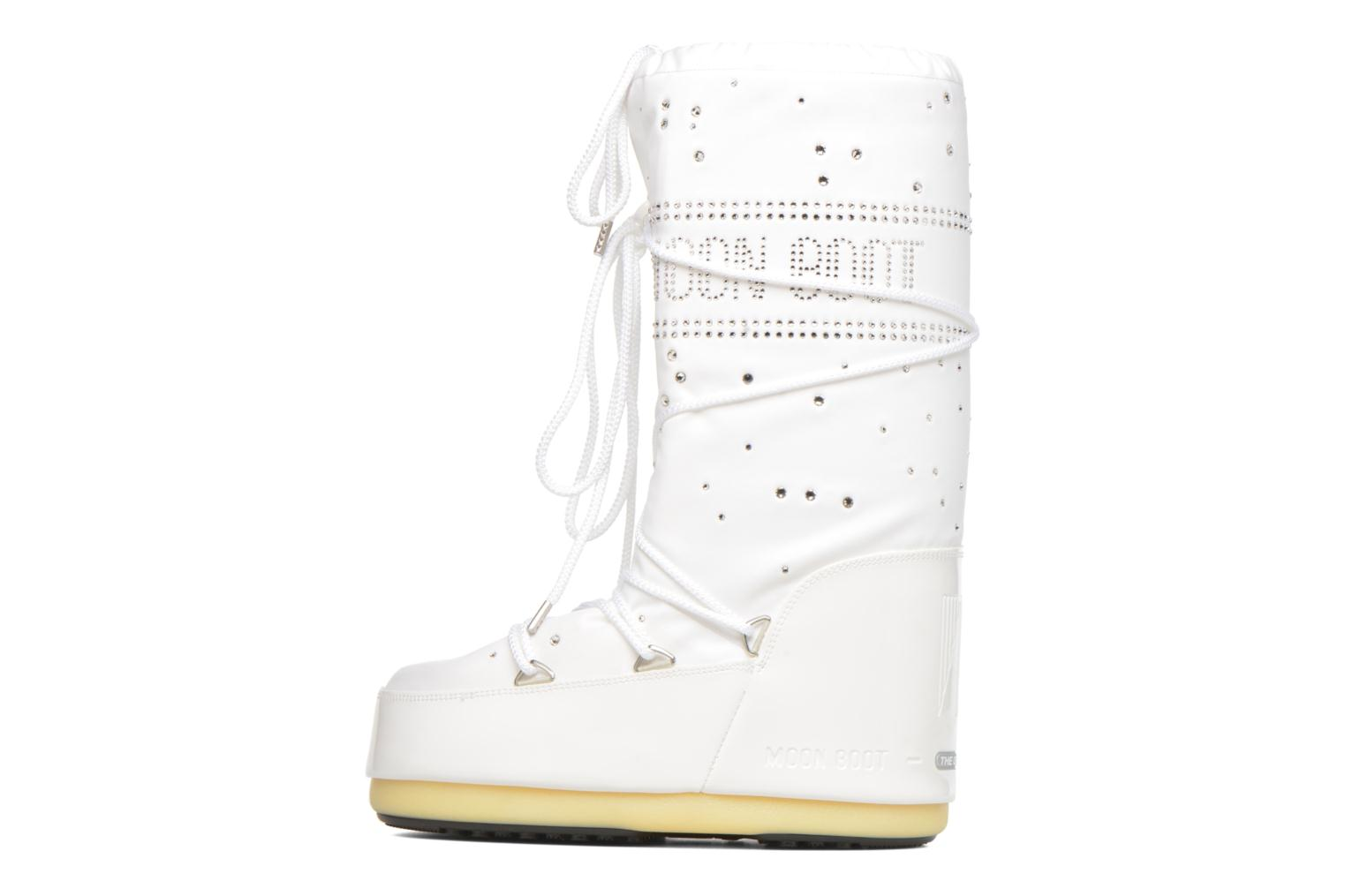 Bottes Moon Boot Constellation Blanc vue face