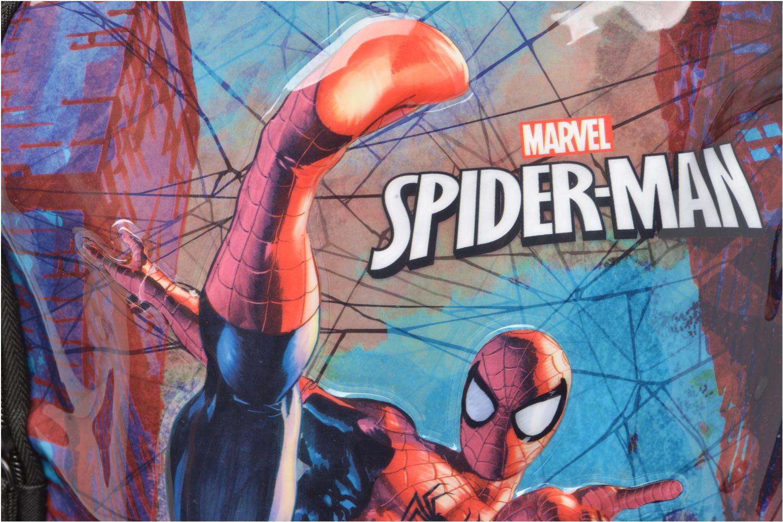 Schooltassen Disney Spiderman Backpack Zwart links
