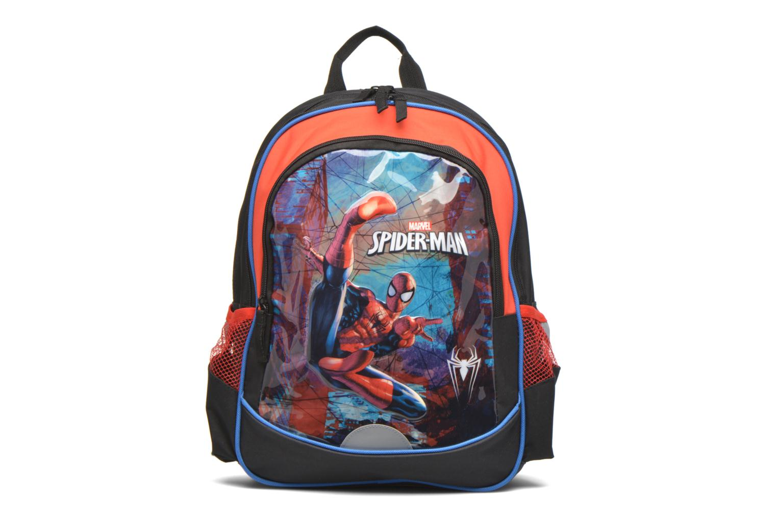 Schooltassen Disney Spiderman Backpack Zwart detail