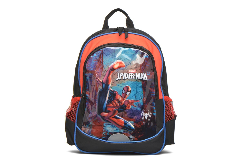Schooltassen Disney Spiderman Backpack Zwart detail