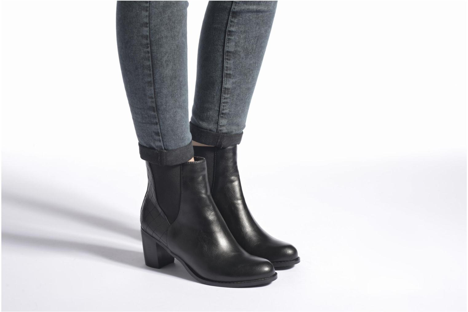 Ankle boots Enza Nucci Edwige Black view from underneath / model view