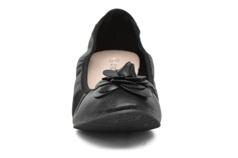 Ballerines Enza Nucci Emilie Noir vue portées chaussures