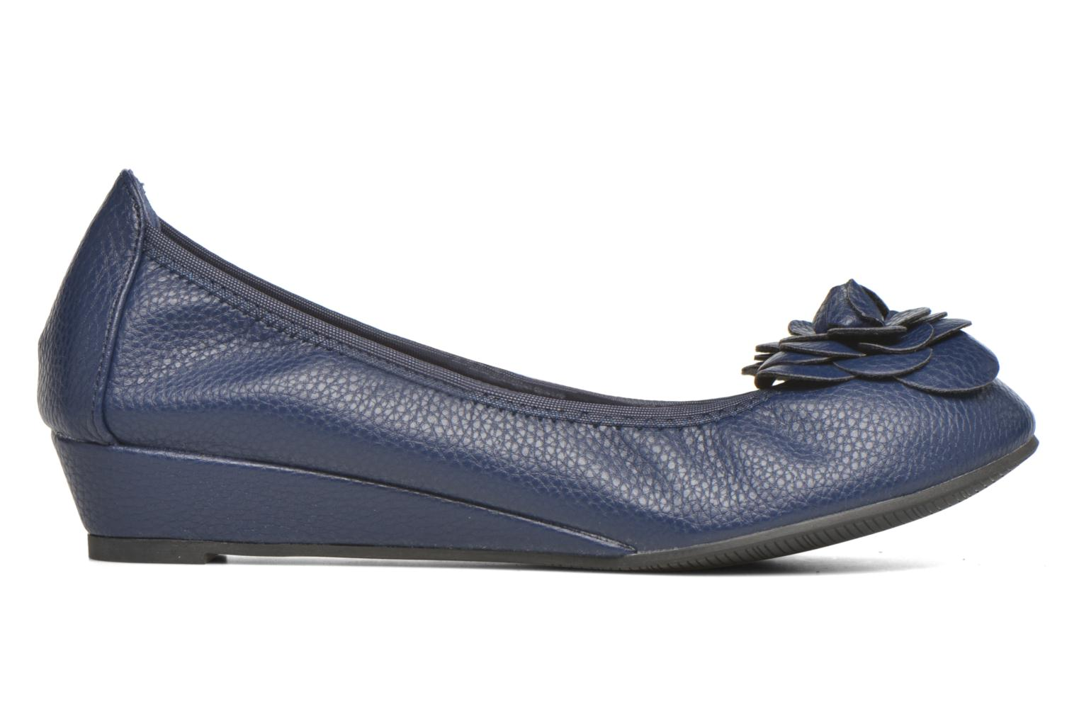 Ballet pumps Enza Nucci Emilie Blue back view