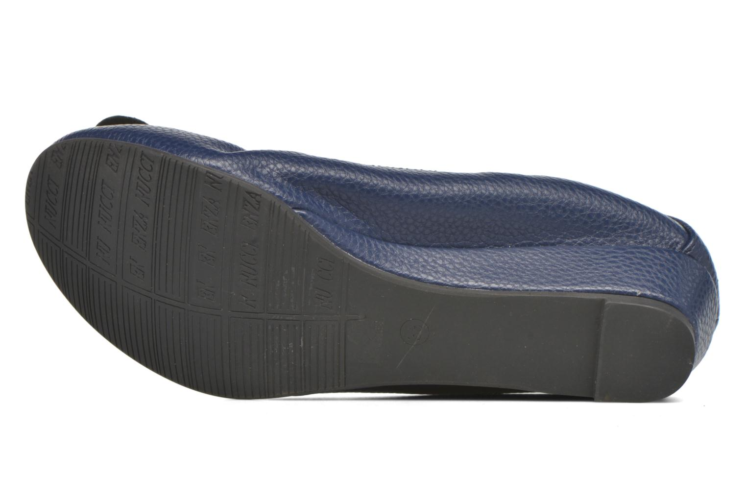 Ballet pumps Enza Nucci Emilie Blue view from above