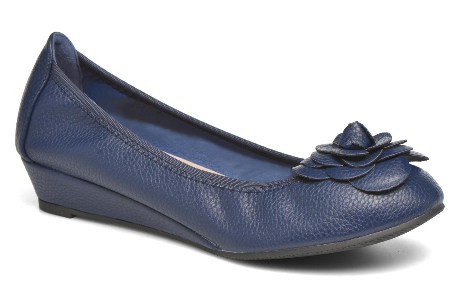 Ballet pumps Enza Nucci Emilie Blue detailed view/ Pair view