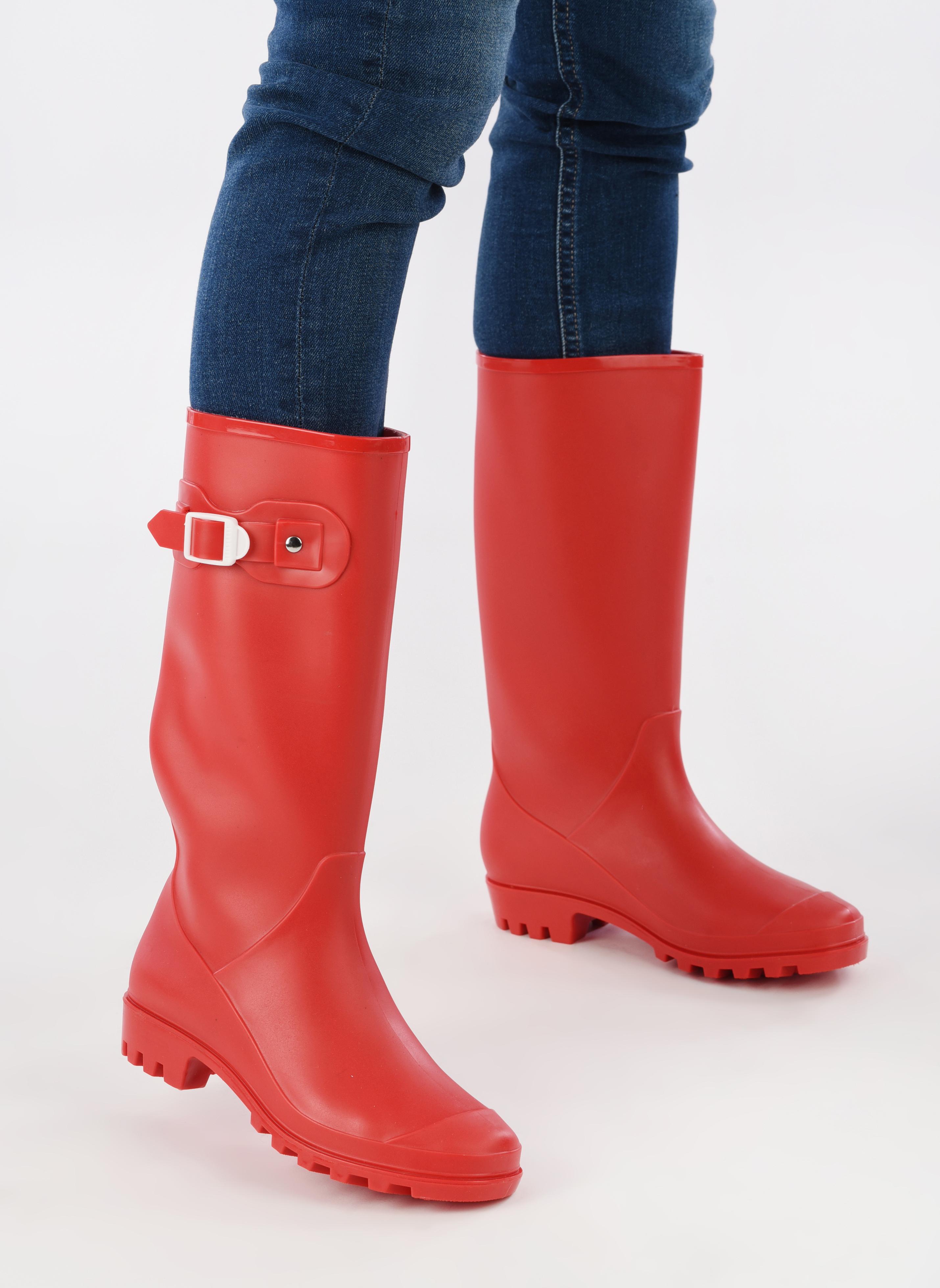 Stiefel SARENZA POP OLODO rot ansicht von unten / tasche getragen