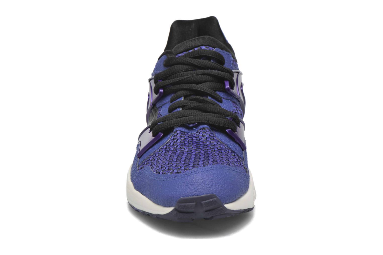 Baskets Puma Blaze knit W Bleu vue portées chaussures