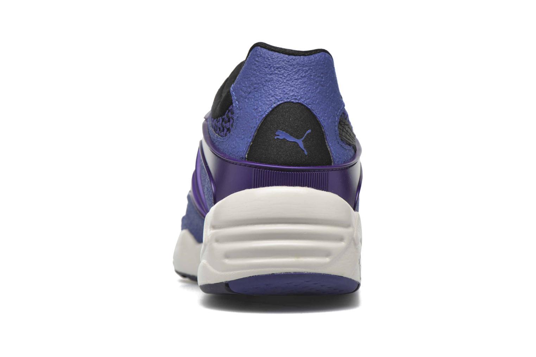Baskets Puma Blaze knit W Bleu vue droite