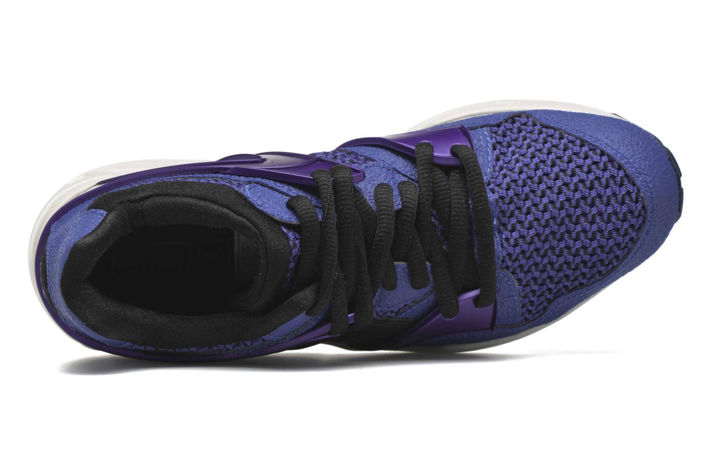 Baskets Puma Blaze knit W Bleu vue gauche