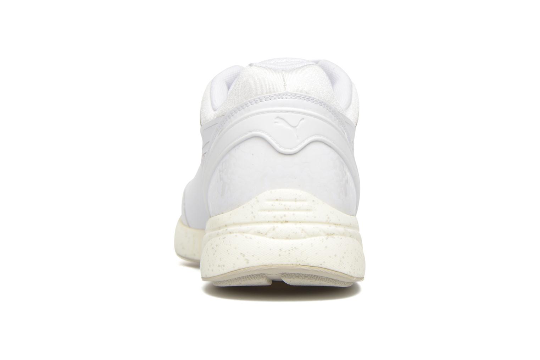 Baskets Puma 698 Ignite Blanc vue droite