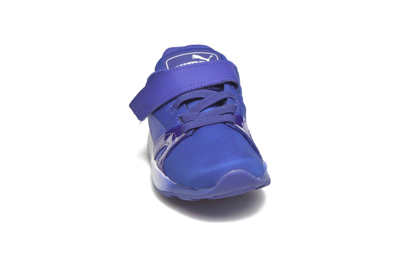 Baskets Puma XT S V Kids Bleu vue portées chaussures