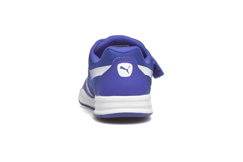 Baskets Puma XT S V Kids Bleu vue droite