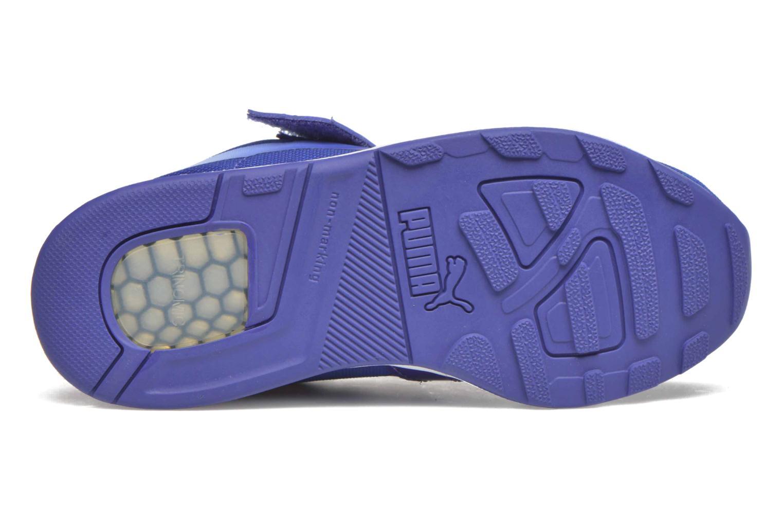 Baskets Puma XT S V Kids Bleu vue haut