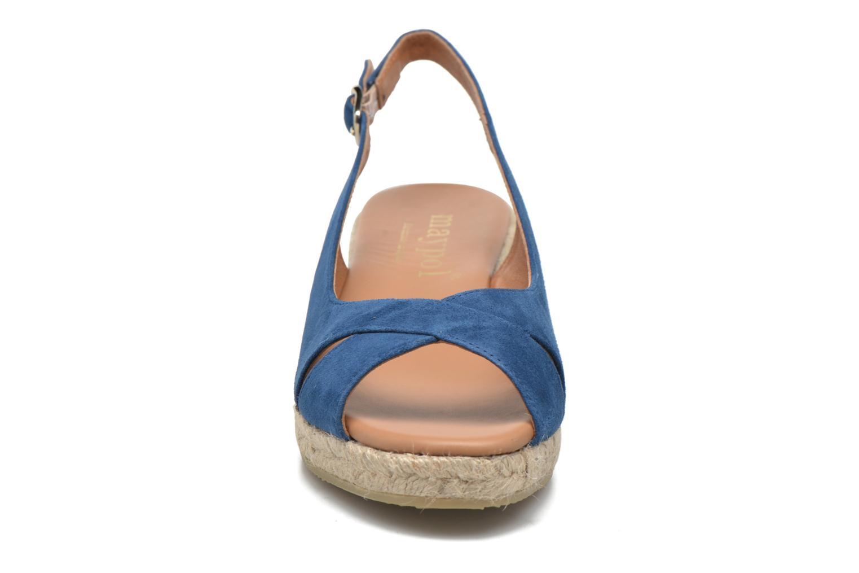 Sandales et nu-pieds Maypol Mungo Bleu vue portées chaussures