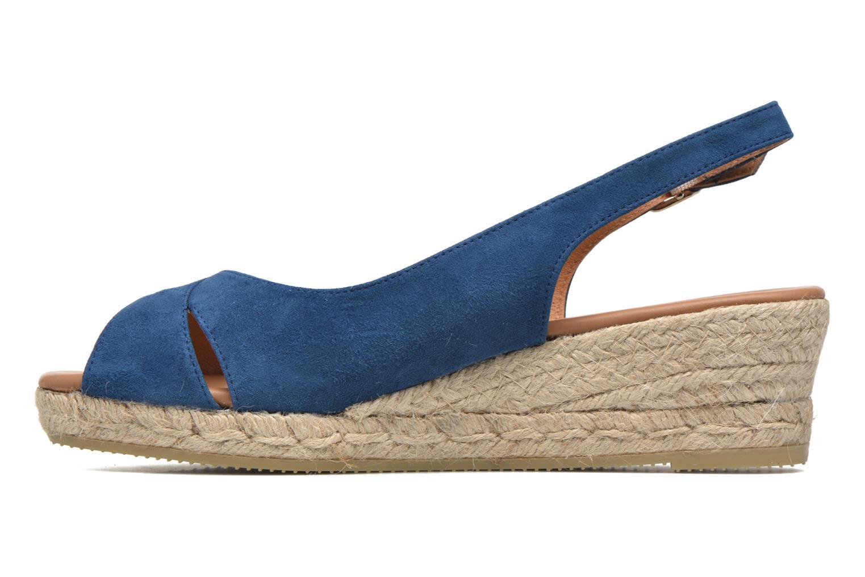 Sandales et nu-pieds Maypol Mungo Bleu vue face