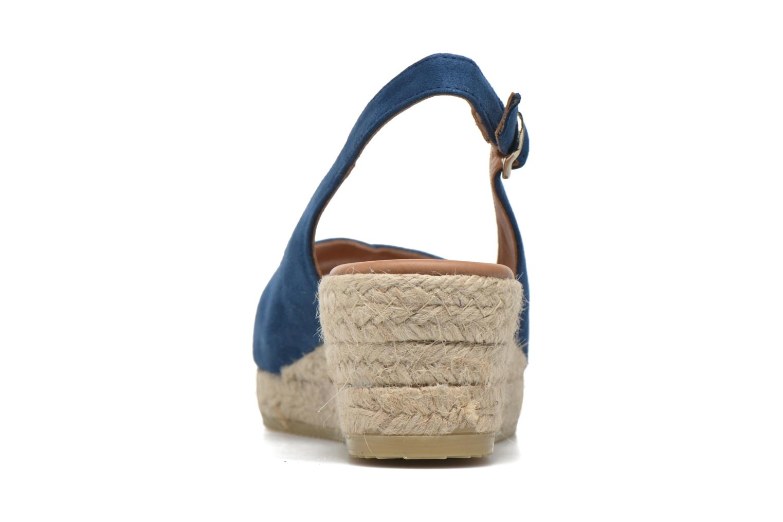 Sandales et nu-pieds Maypol Mungo Bleu vue droite