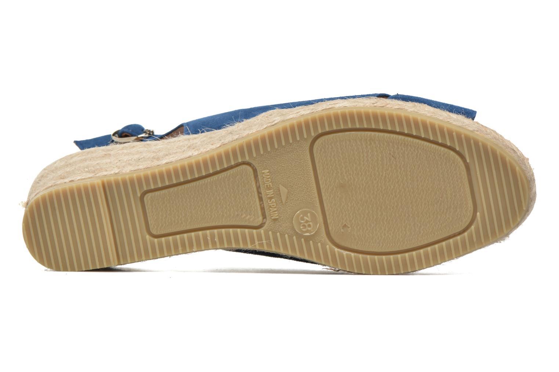 Sandales et nu-pieds Maypol Mungo Bleu vue haut