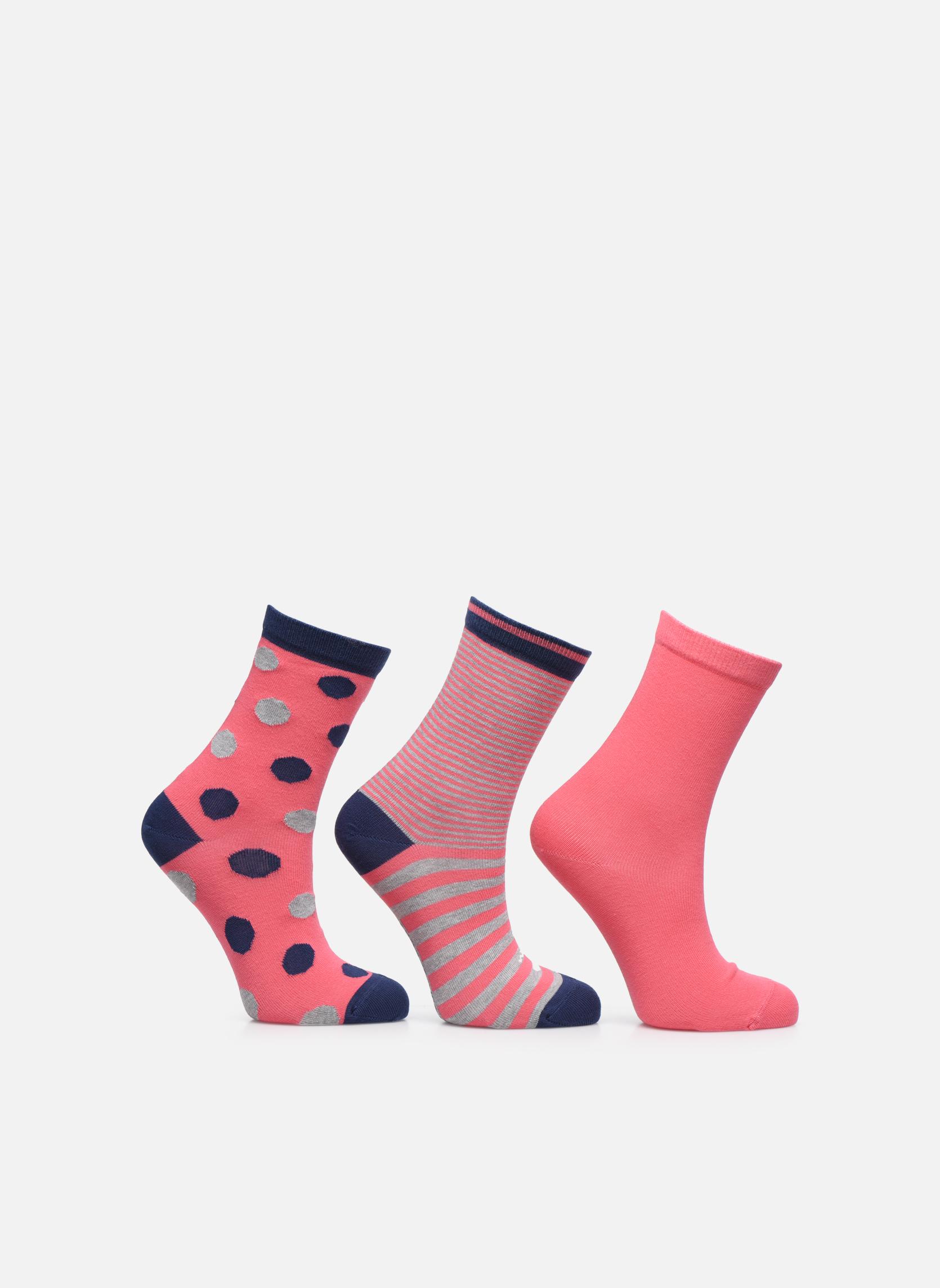 Socks & tights Accessories Chaussettes pois Pack de 3 Enfant coton