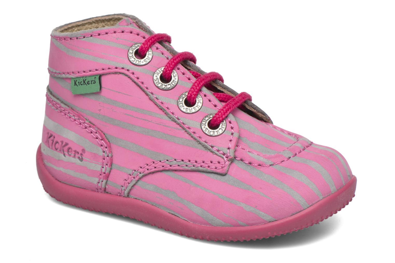Botines  Kickers Bonbon II Rosa vista de detalle / par