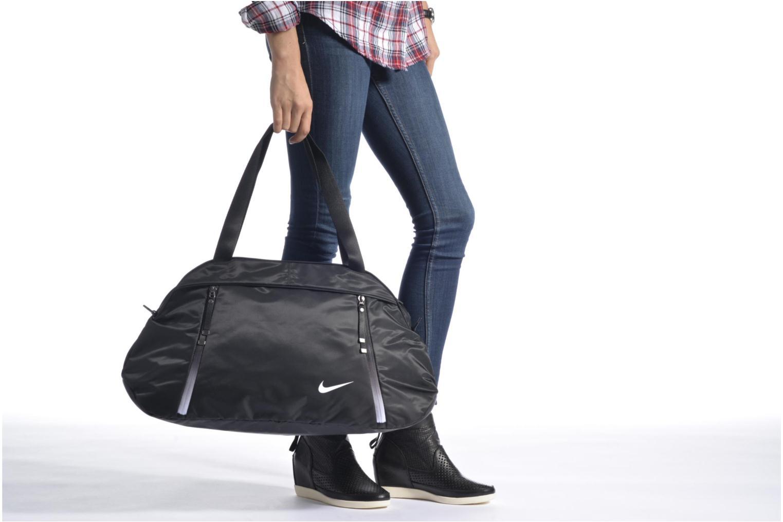 Sacs de sport Nike Auralux Solid Club training bag Sac de sport Noir vue haut