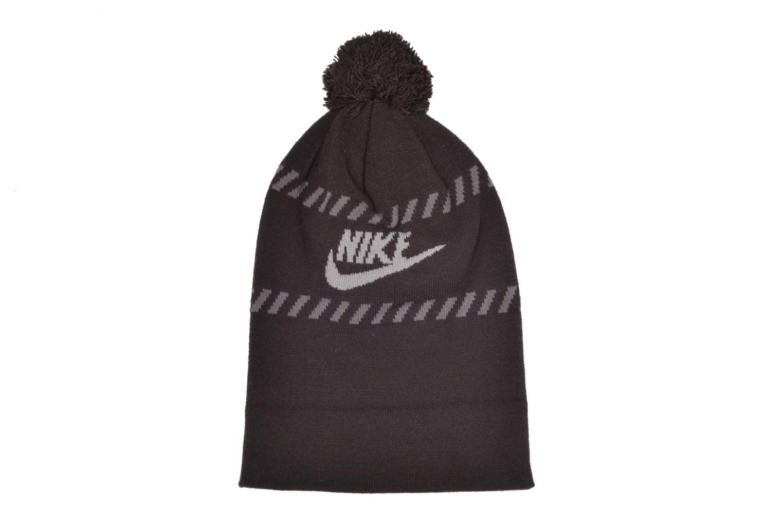 Diversos Nike Futura Pom Beanie-Red Bonnet Negro vista del modelo