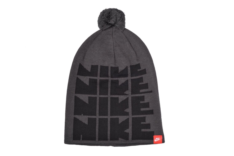 Divers Nike Futura DNA Beanie-Red Bonnet Gris vue détail/paire
