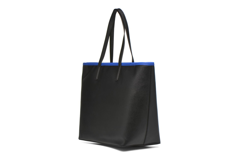 Handtaschen Karl Lagerfeld Mountain Holiday shopper schwarz ansicht von rechts