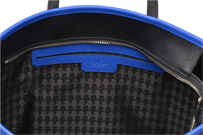 Handtaschen Karl Lagerfeld Mountain Holiday shopper schwarz ansicht von hinten
