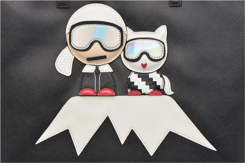 Handtaschen Karl Lagerfeld Mountain Holiday shopper schwarz ansicht von links