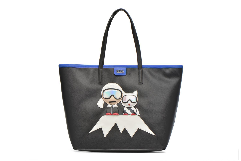 Handtaschen Karl Lagerfeld Mountain Holiday shopper schwarz detaillierte ansicht/modell