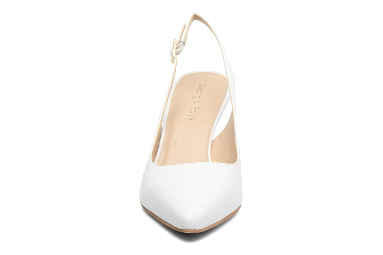 Escarpins Georgia Rose Gatouba Blanc vue portées chaussures