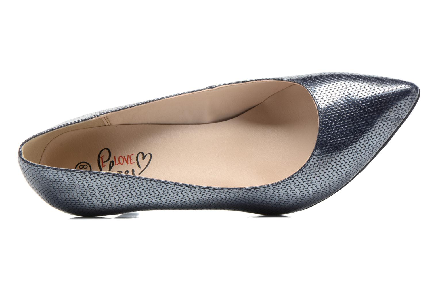 Escarpins I Love Shoes FIRONE Bleu vue gauche