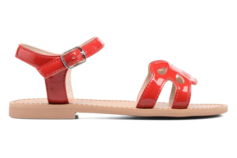 Sandales et nu-pieds I Love Shoes FIDELI Rouge vue derrière