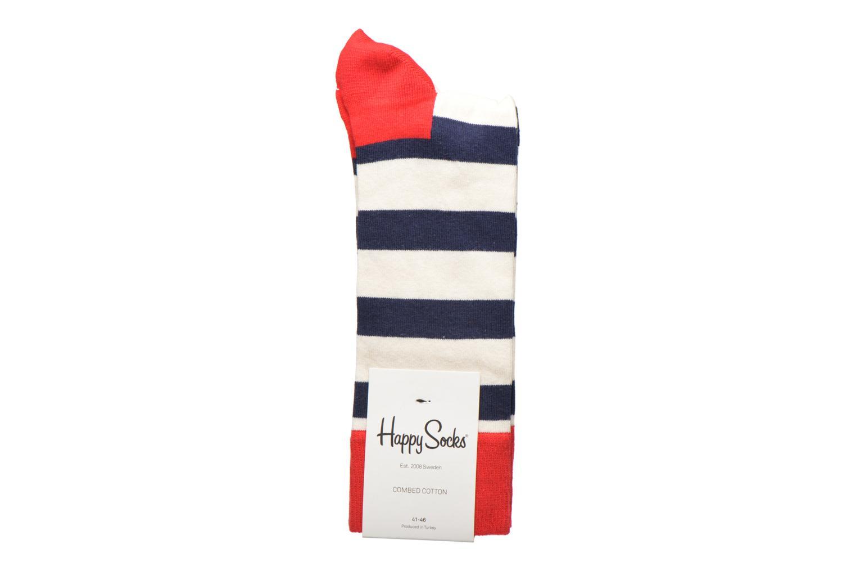 Chaussettes et collants Happy Socks Stripe Multicolore vue détail/paire