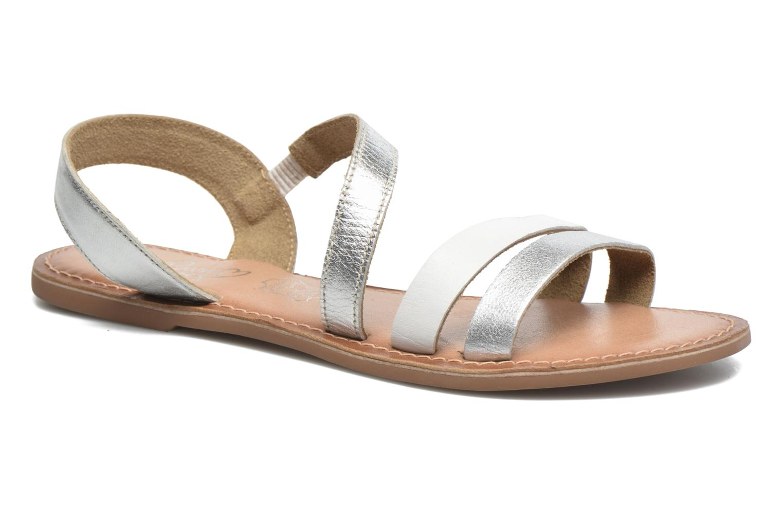 KEUNI Leather SILVER/WHITE