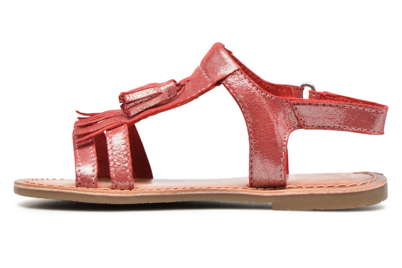 Sandales et nu-pieds I Love Shoes KEFRAN Leather Rouge vue face