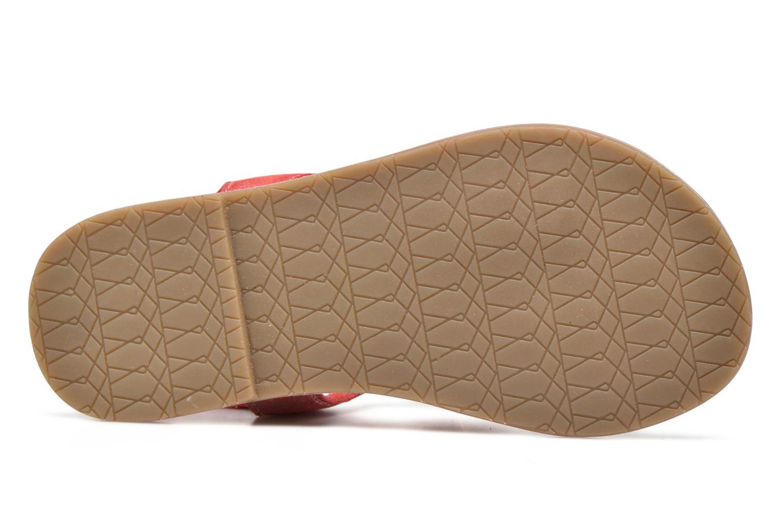 Sandales et nu-pieds I Love Shoes KEFRAN Leather Rouge vue haut