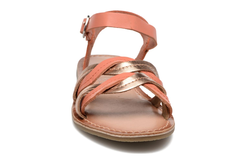 Sandales et nu-pieds I Love Shoes KEWAVY Leather Rose vue portées chaussures
