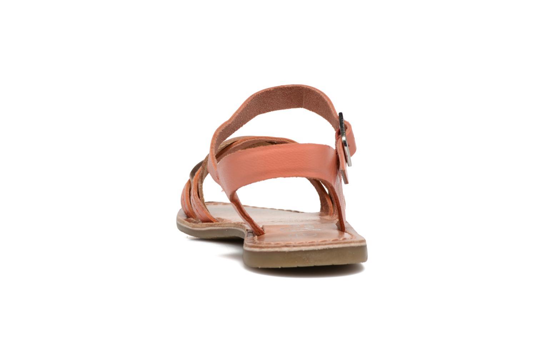 Sandales et nu-pieds I Love Shoes KEWAVY Leather Rose vue droite