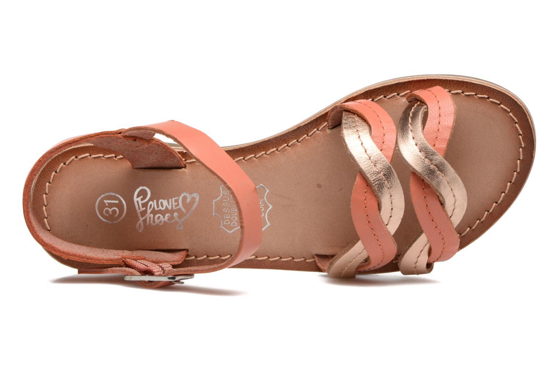 Sandales et nu-pieds I Love Shoes KEWAVY Leather Rose vue gauche