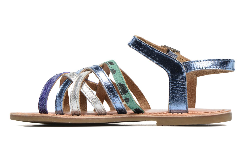Sandalen I Love Shoes KEMULT Leather blau ansicht von vorne
