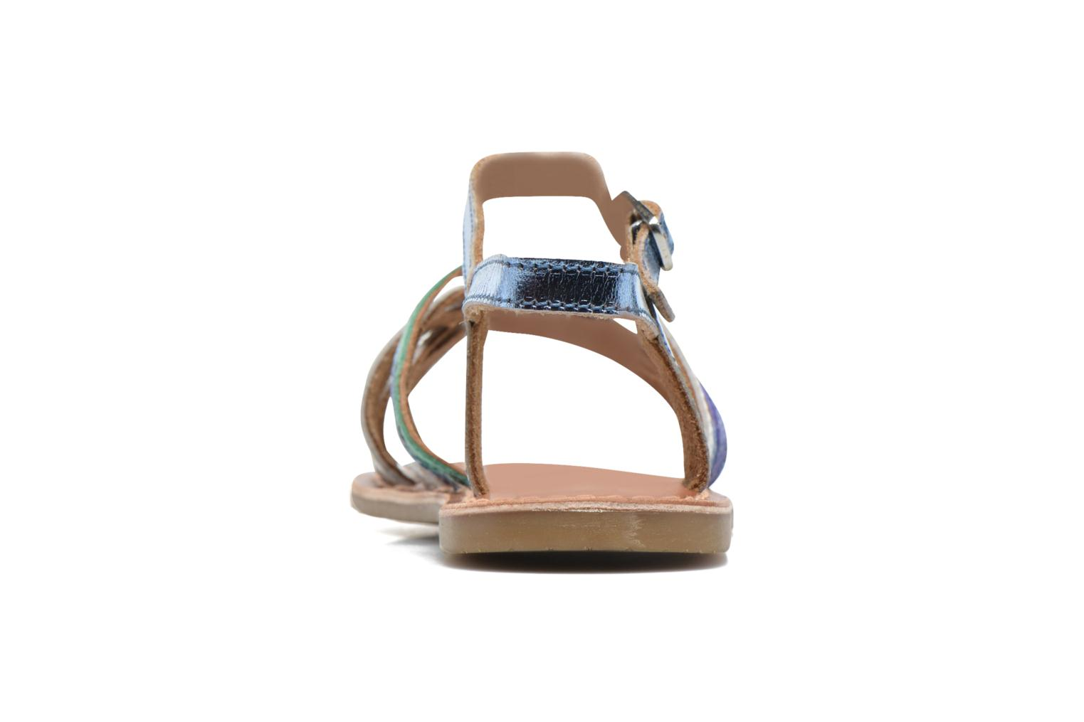 Sandalen I Love Shoes KEMULT Leather blau ansicht von rechts