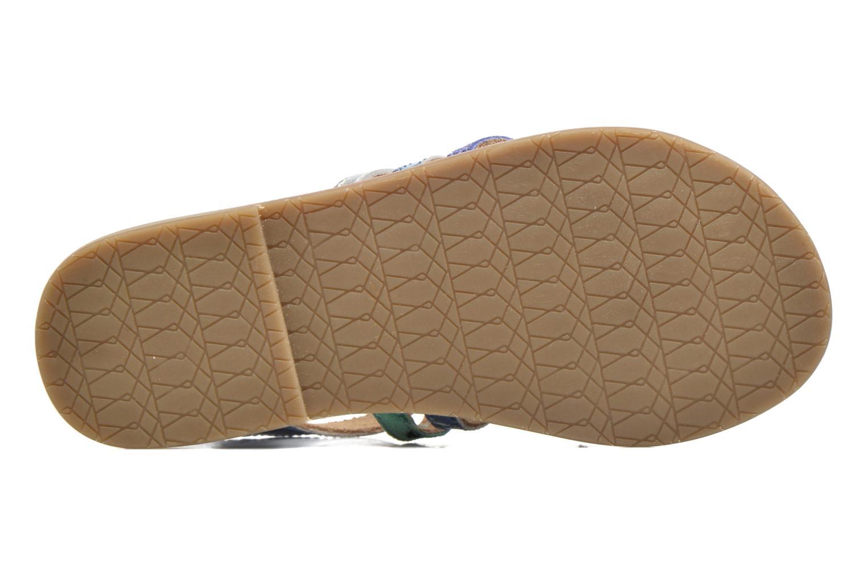 Sandalen I Love Shoes KEMULT Leather blau ansicht von oben
