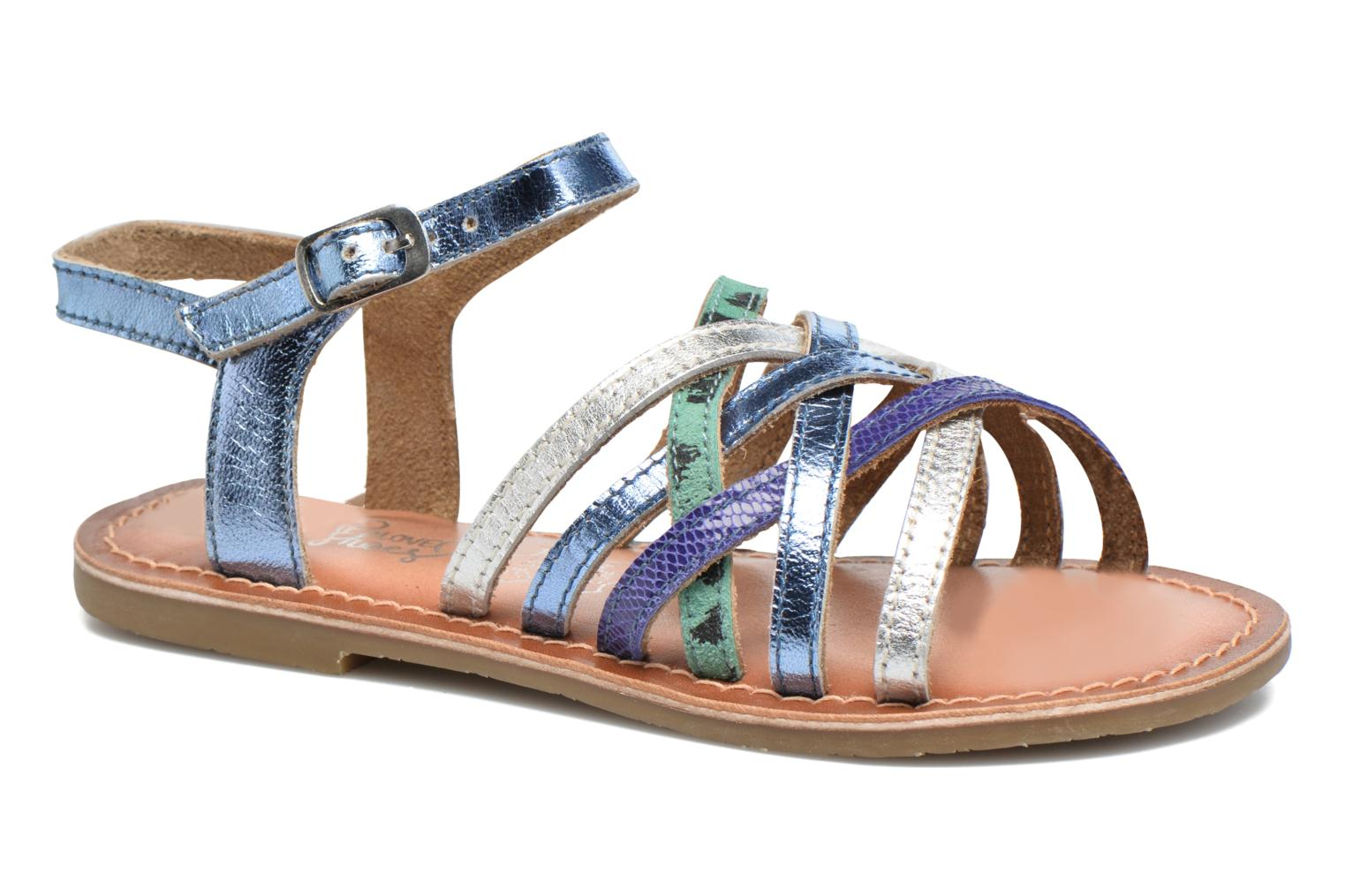 Sandalen I Love Shoes KEMULT Leather blau detaillierte ansicht/modell