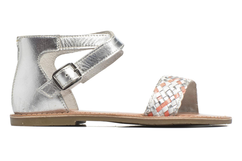 Sandalen I Love Shoes KETRUSI Leather silber ansicht von hinten