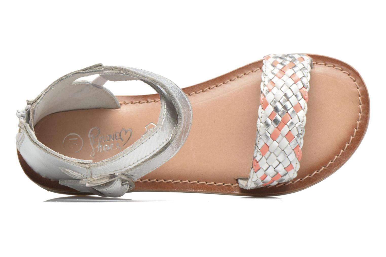 Sandalen I Love Shoes KETRUSI Leather silber ansicht von links