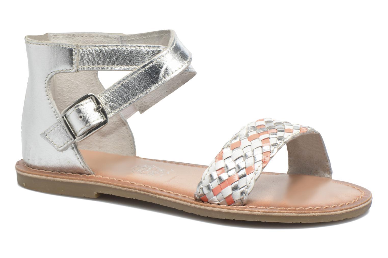 Sandalen I Love Shoes KETRUSI Leather Zilver detail