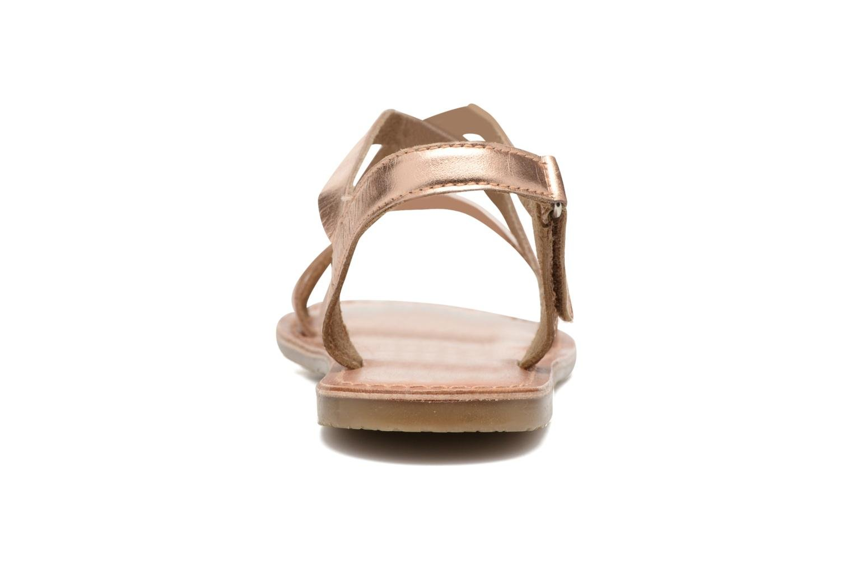 Sandalen I Love Shoes KEINU Leather Goud en brons rechts